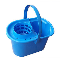 Mopping Square Clear Plastic Buckets