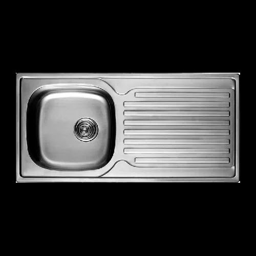 Single Bowl With Drain Board Stainless Steel Sink At Rs 8500 Piece