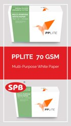 White PPLITE 70 GSM, For Stationery, GSM: Less Than 80