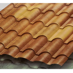Earth Finish Natura Eurotile Roofing Sheet