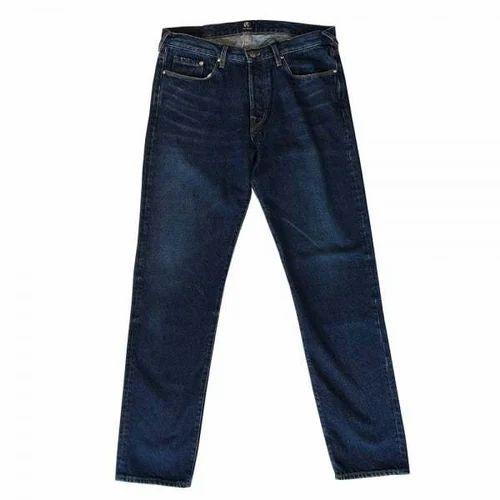 Plain Denim Denim Jeans