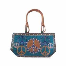 Param Handicrafts Ladies Embroidered Handbag