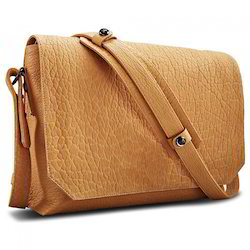 Brown Adel International Leather Swipe Messenger Bags, Pure Leather: Yes