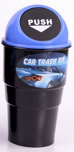 High Quality Home Car Trash Can Dolphin Mini Garbage Bin Desk Ani