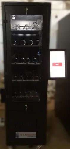 Snacks Vending Machine (Cashless, Online Inventory Tracking)