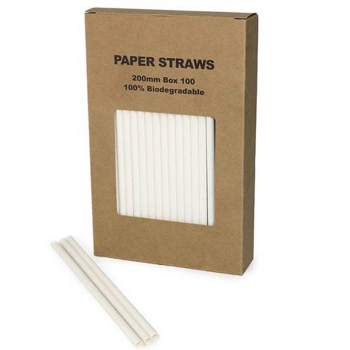 Retro Red /& White Stripe Premium Biodegradable Paper Straws Pack of 500