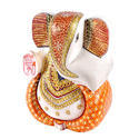 Marble Ganesh Contemporary Statue 9 inch