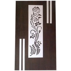 Brown, White Hinged Wooden Laminated Doors, For Home