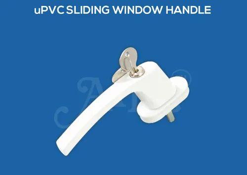Aluminium White UPVC Window Handle, Packaging Size: 50 - 100 Pieces