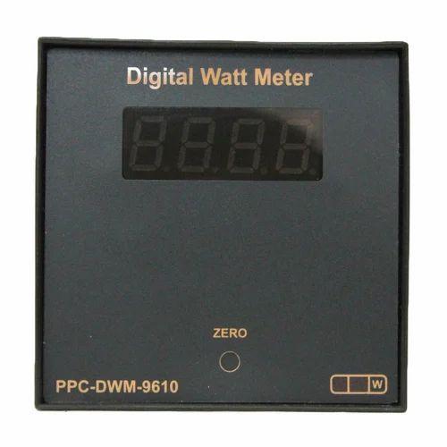 digital watt meter, 1 phase panel meter technoversiondigital watt meter