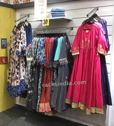 Display Wall for Ladies Garment Store