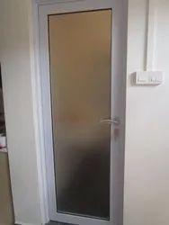 White Aluminium Door