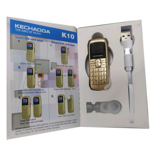 Single Sim K10 Kechaoda Camera Phone
