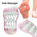 Kawachi Foot Sole Acupressure and Reflexology Wheel Massager