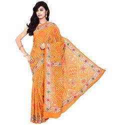 Bandhani Fancy Designer Saree