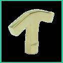 Pump- Out Key (Brass)