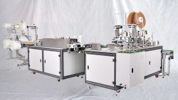 Disposable Face Mask Making Machine, Production Capacity: 100 Pcs Per Min., Ai-01 Aman Impex