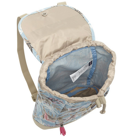 Jansport Abbie Backpack (Multi Palm Denim)