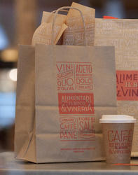 Coffee Shop Paper Bags