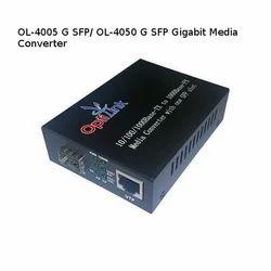 OL-4005 G SFP/ OL-4050 G SFP Gigabit Media Converter