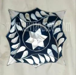 Decorative Mother of Pearl Inlay Coaster