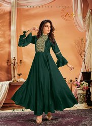 Party Wear Designer Gown Style Long Kurti Collection