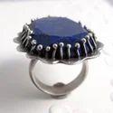 Couple Bridal Engagement Wedding Gemstone Ring