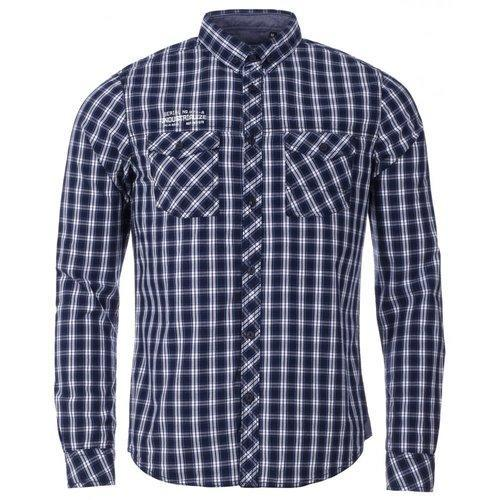 Mens Cotton Check Shirt, Size: 38 to 44