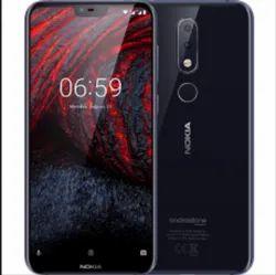 Black Nokia 6 Point 1 Plus Mobile Phones
