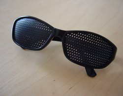 Pin Hole Spectacles