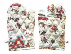 Cotton Kitchen Oven Gloves
