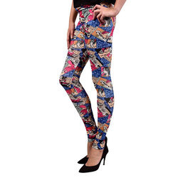 Comics Printed Legging