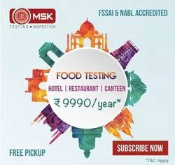 Food Testing for Hotels, Restaurants & Canteens