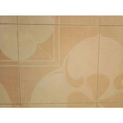 Decorative Floor Tile, Size: Medium