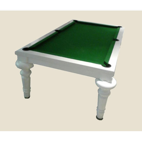Sunshine Billiards Portable Wood Pool Cum Dining Table With Green Cover,  Weight: 240 Kg