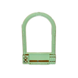 Plain Green Mirror Frame