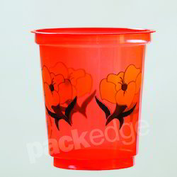 200ml Disposable Printed Plastic Glass