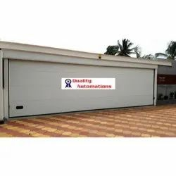 Motorized Sectional Garage Door