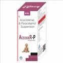Aceclofenac 50mg   Paracetamol 125mg/5ml (Suspension)