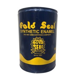 Gold Seal Synthetic Enamel Paint, Packaging Type: Tin