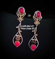 OXIDIZED Fashion earring.