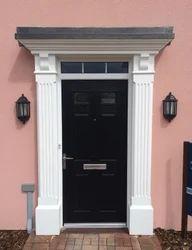 White Square FRP Door Surrounding, Size: 7 Feet