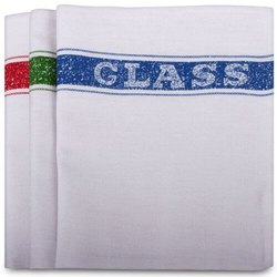 Plain White Cleaning Cloth for Glass Cleaning, Packaging Type: Packet