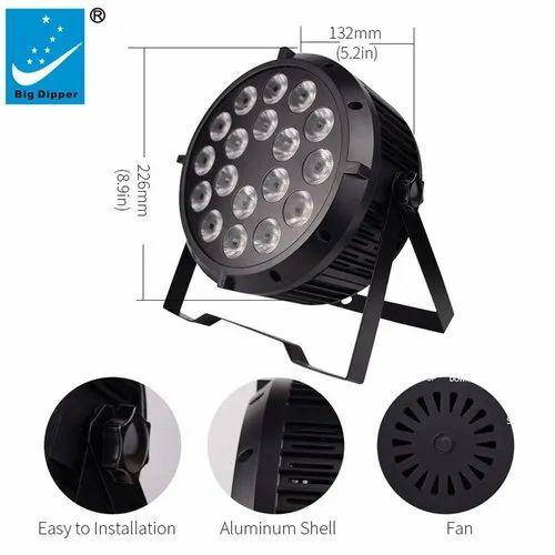 60 mm Big Dipper LED Par Light, Base Type: E27