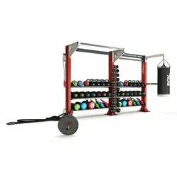 Escape Fitness Two Bay Single Sided Hit Hub Frame