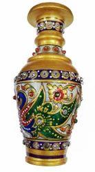 Indoor Multicolor Marble Vase