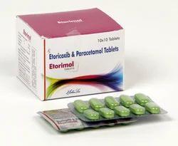 Etoricoxib 60 Mg Paracetamol 325 Mg Tablets