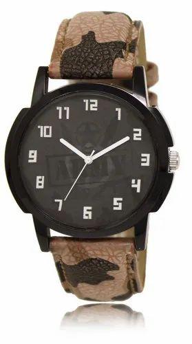 Men Round Best Quality Wrist Watch