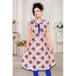 Ladies Cotton Printed Fancy Kurti