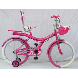 Rockstar Stylish Pink Basket Bicycle